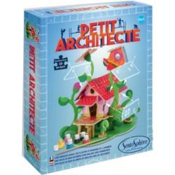 PETIT ARCHITECTE piccolo architetto SENTOSPHERE kit artistico CASA DEI FIORI età 7+