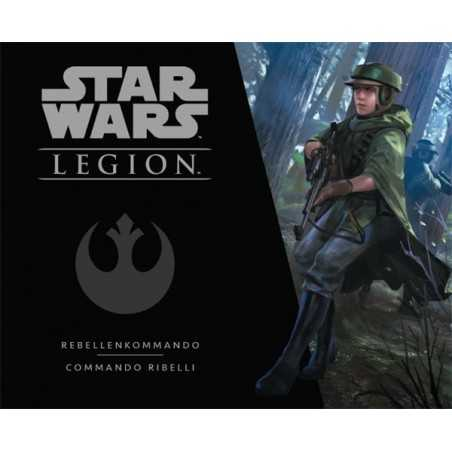 STAR WARS LEGION personaggi COMMANDO RIBELLI pack unità ASMODEE Disney 7 MINIATURE età 14+