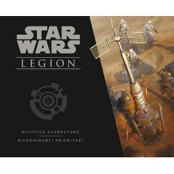 STAR WARS LEGION personaggi RIFORNIMENTI PRIORITARI pack unità ASMODEE Disney 12 MINIATURE età 14+