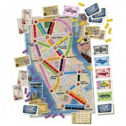 ESPANSIONE ticket to ride NEW YORK gioco da tavolo ANNI '60 età 8+
