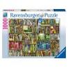 PUZZLE ravensburger LA LIBRERIA BIZZARRA 1000 pezzi THE BIZARRE BOOKSHOP 70x50cm