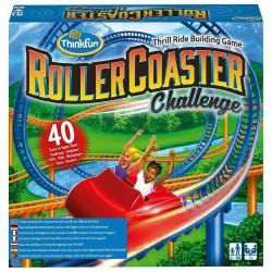 ROLLER COASTER Think Fun CHALLENGE percorso COSTRUZIONE montagne russe SFIDE età 6+