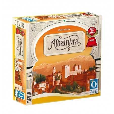 ALHAMBRA nuova edizione DEVIR gioco da tavolo QUEEN GAMES istruzioni in italiano 8+