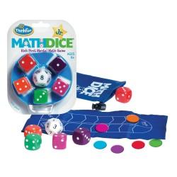 MATH DICE JUNIOR Think Fun GIOCO DI CALCOLO MENTALE matematico DADI età 6+