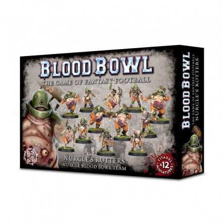 BLOOD BOWL NURGLE'S ROTTERS TEAM squadra espasione 12 miniature Citadel
