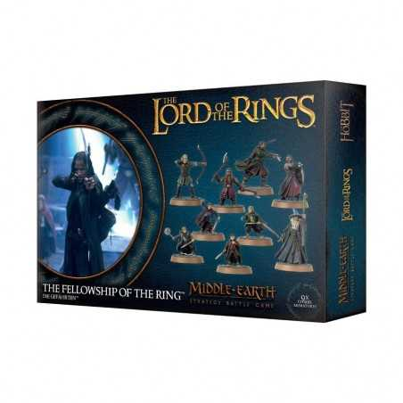 COMPAGNIA DELL'ANELLO fellowship of the ring Middle Earth Lord of the rings Games Workshop