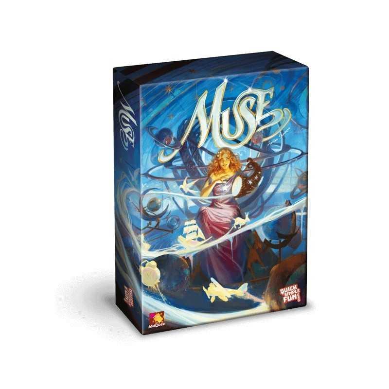 MUSE creatività ASMODEE in italiano MUSA party game GIOCO DI CARTE età 10+