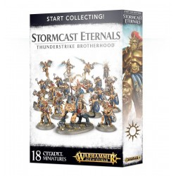 START COLLECTING STORMCAST ETERNALS THUNDERSTRIKE BROTHERHOOD Warhammer Age of Sigmar Order 18 miniature