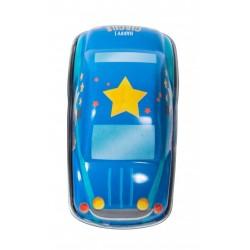 AUTO DELLA POLIZIA piccola IN LATTA blu MOULIN ROTY gioco RETROCARICA metallo 720366 età 3+