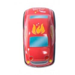 AUTO DEI POMPIERI piccola IN LATTA rossa MOULIN ROTY gioco RETROCARICA metallo 720365 età 3+