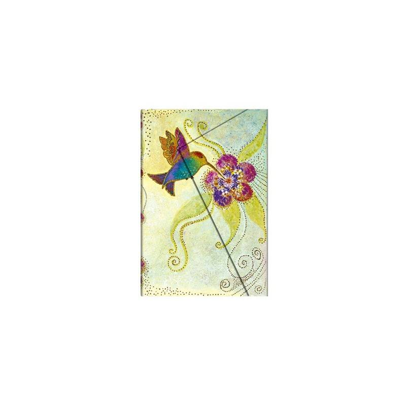 Journal rayé COLIBRI ' mini cm 10 x 14