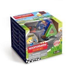 MAGFORMERS R/C KART SET 13 PZ vehicle line COSTRUZIONI magnetiche 3D telecomandata AUTO età 3+