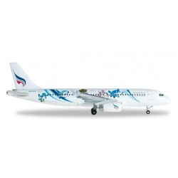 BANGKOK AIRWAYS AIRBUS A320 MASCOTS aereo in metallo 526524 modellino HERPA WINGS scala 1:500