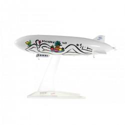 ZEPPELIN NT MAINAU dirigibile in metallo 528252 modellino HERPA WINGS scala 1:500