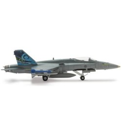 ROYAL CANADIAN AIR FORCE MCDONNEL DOUGLAS CF-18 HORNET aereo in metallo 552660 modellino HERPA WINGS scala 1:500