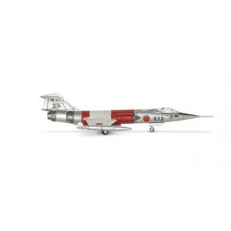JASDF LOCKHEED F-104J STARFIGHTER aereo in metallo 552165 modellino HERPA WINGS scala 1:200