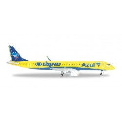 AZUL EMBRAER E195 CANARINHO aereo in metallo 526517 modellino HERPA WINGS scala 1:500