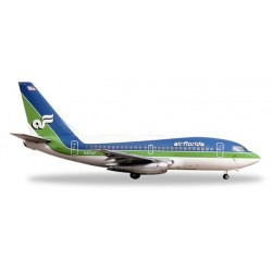 AIR FLORIDA BOEING 737-100 aereo in metallo 528740 modellino HERPA WINGS scala 1:500