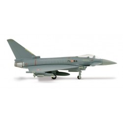 AUSTRIAN AIR FORCE EUROFIGHTER TYPHOON aereo in metallo 553094 modellino HERPA WINGS scala 1:200