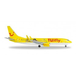 TUIFLY BOEING 737-800 DURER & KLEXI aereo in metallo 528177 modellino HERPA WINGS scala 1:500
