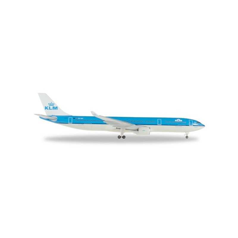 KLM AIRBUS A330-300 95 YEARS aereo in metallo 527903 modellino HERPA WINGS scala 1:500