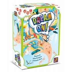 DREAM ON ! gioco di carte SOGNI collaborativo ASMODEE età 7+