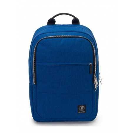 ZAINO BIZ M Invicta CARRY ON cartella BLU viaggio TEMPO LIBERO backpack COMPATTO