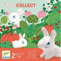 LITTLE COLLECT gioco di raccolta CONIGLIETTI educativo DJECO da tavolo DJ08558 età 3+