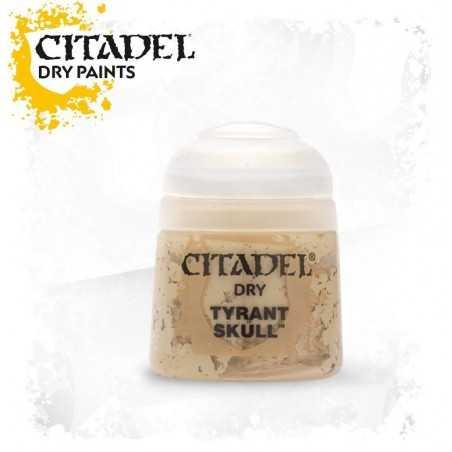 TYRANT SKULL dry paint 12 ml Citadel colore acrilico pennello asciutto