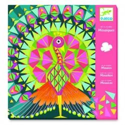 MOSAICI in rilievo COCO kit artistico ARTE IN NUMERI creativo DJECO adesivo DJ08888 età 8+