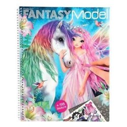 CREA IL TUO ALBUM create your TOP MODEL studio FANTASY con esempi 198 STICKERS topmodel 10127_A