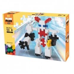 Plus Plus BIG Basic 50 PEZZI costruzioni ROBOT in plastica GIOCO MODULARE 5 colori 1+