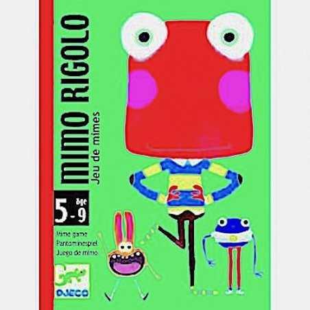 MIMO RIGOLO gioco di carte MIMARE Djeco MOSTRI rapidità DIVERTENTE età 5+