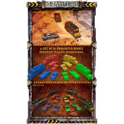 BADLANDS Outpost of Humanity Kickstar edition Apocalypse survival game