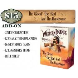 WESTERN LEGENDS Kickstarter edition including 2 expansions Kolossal Games