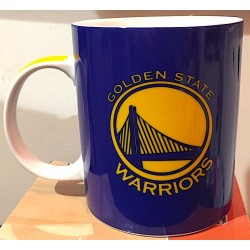 TAZZA NBA mug GOLDEN STATE WARRIORS in porcellana BLU panini BASKET pallacanestro