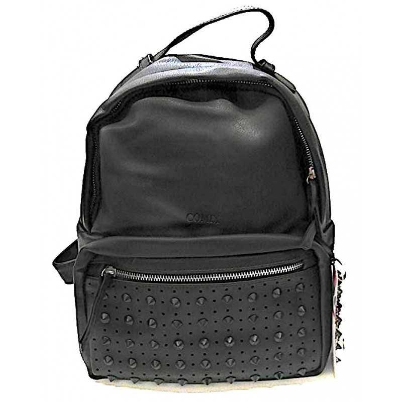 1cb1c78a03 MINI ZAINO con le borchie COMIX Panini PINS NERO tempo libero 2019 scuola  BACK PACK