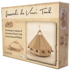 MACCHINA DA GUERRA busy bee LEONARDO DA VINCI in legno CARRO ARMATO da costruire 8+