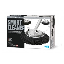 SMART CLEANER fun mechanics kit SPAZZOLA INTELLIGENTE pulitore KIT SCIENTIFICO gioco 4M età 8+
