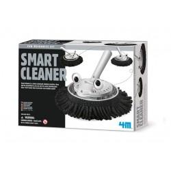 SMART CLEANER fun mechanics kit SPAZZOLA INTELLIGENTE pulitore KIT SCIENTIFICO gioco 4M età 8+