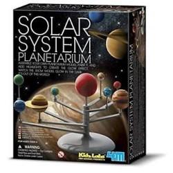 COSTRUISCI IL TUO SISTEMA SOLARE kit artistico SOLAR SYSTEM SET gioco 4M età 8+
