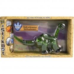 STIKBOT zanimation studios MEGA DINO StikBRONTOSAURUS brontosauro VERDE dinosauro 4+