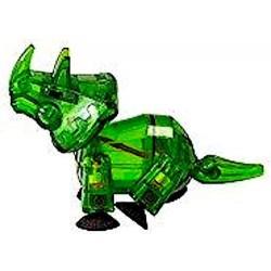 STIKBOT dinosauri STIK TRICERATOPS triceratopo VERDE zanimation studios DINO età 4+