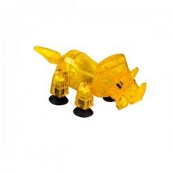 STIKBOT dinosauri STIK TRICERATOPS triceratopo GIALLO zanimation studios DINO età 4+