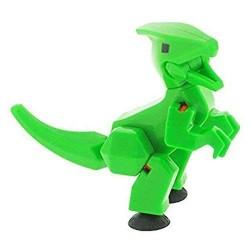 STIKBOT dinosauri STIK PARASAUROLOPHUS parasaurolofo VERDE zanimation studios DINO età 4+