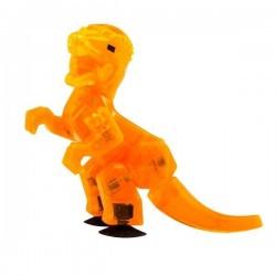 STIKBOT dinosauri STIK PACHYCEPHALOSAURUS pachicefalosauro ARANCIONE zanimation studios DINO età 4+