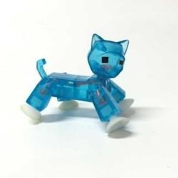 STIKBOT animali STIK CAT gatto BLU zanimation studios PETS età 4+