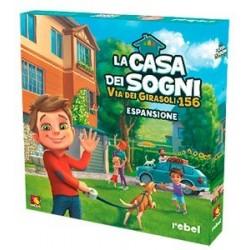 LA CASA DEI SOGNI VIA DEI GIRASOLI 156 espansione in italiano Asmodee