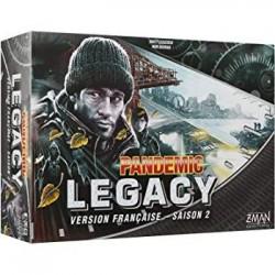 PANDEMIC LEGACY season 2 in italiano scatola NERA Asmodee Pandemia