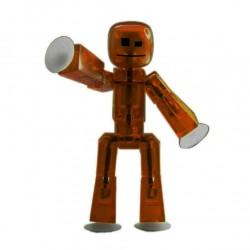 STIKBOT personaggio STIK umano MARRONE zanimation studios SNODATO età 4+